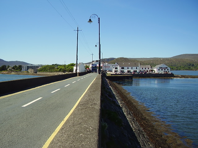 Michael Davitt Bridge, Achill Sound.